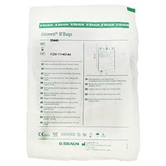 URINBEUTEL steril 2 l m.Ablauf Antirefluxventil 1 Stück - Rückseite