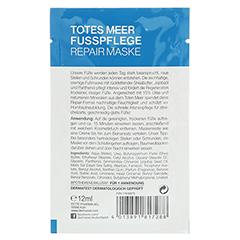 DERMASEL Fußpflege Maske 12 Milliliter - Rückseite