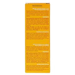 BIODERMA Photoderm Max Aquafluid SPF 50+ hell 40 Milliliter - Rückseite