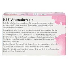 H&S Bio Rose-Karkade Aromatherapie Filterbeutel 20 Stück - Rückseite