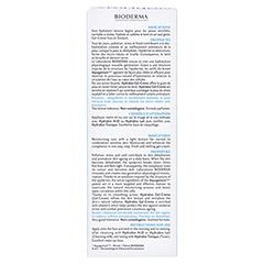 BIODERMA Hydrabio Gel Creme 40 Milliliter - Rückseite