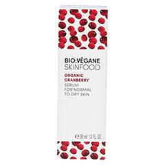 BIO VEGANE Moisture Cranberry Serum 30 Milliliter - Rückseite