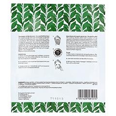 BIO VEGANE Sensitive green Tea Vliesmaske 16 Milliliter - Rückseite
