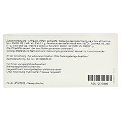 PASSIFLORA COMP.Ampullen 10x1 Milliliter N1 - Rückseite