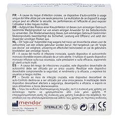 GLUCOMEN READY Lancets 25 Stück - Rückseite