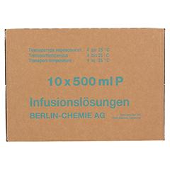RINGER LACTAT Plastik Infusionslösung 10x500 Milliliter N2 - Rückseite