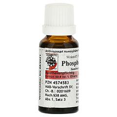 PHOSPHORUS D 4 Dilution 20 Milliliter N1 - Rückseite