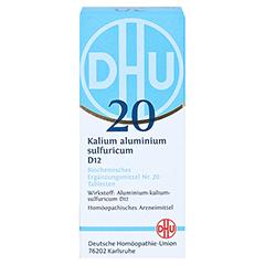 BIOCHEMIE DHU 20 Kalium alum.sulfur.D 12 Tabletten 80 Stück N1 - Vorderseite