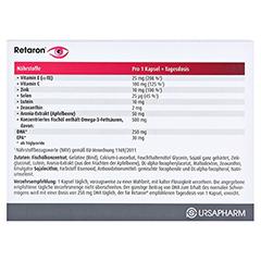 RETARON AMD Kapseln 30 Stück - Rückseite