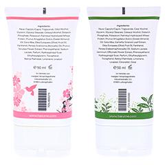 harumé Handcreme Kirschblüte + Grüntee 2 Stück - Rückseite