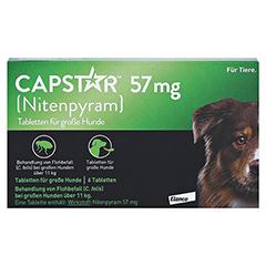 CAPSTAR 57 mg Tabletten f.große Hunde 6 Stück - Vorderseite