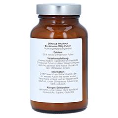 D-MANNOSE PULVER vegan 100 Gramm - Linke Seite