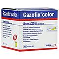 GAZOFIX color Fixierbinde kohäsiv 8 cmx20 m gelb 1 Stück