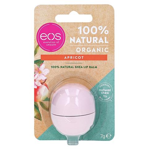 EOS Organic Lip Balm apricot sphere 7 Gramm