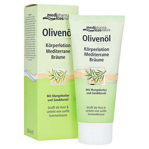 medipharma Olivenöl Körperlotion Mediterrane Bräune 200 Milliliter