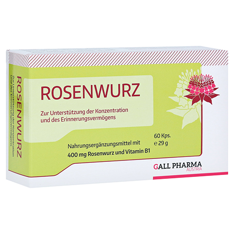 ROSENWURZ 400 mg Kapseln 60 Stück