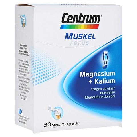 CENTRUM Fokus Muskel Magnesium+Kalium Sticks 30 Stück