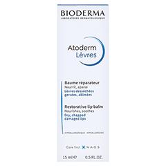 BIODERMA Atoderm Levres Baume Lippen-Pflegebalsam 15 Milliliter - Vorderseite