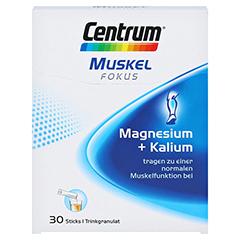 CENTRUM Fokus Muskel Magnesium+Kalium Sticks 30 Stück - Vorderseite