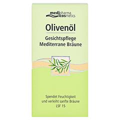 medipharma Olivenöl Gesichtspflege Mediterrane Bräune 50 Milliliter - Vorderseite