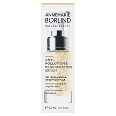 ANNEMARIE BÖRLIND Anti-Pollution & Regeneration Serum 30 Milliliter - Vorderseite