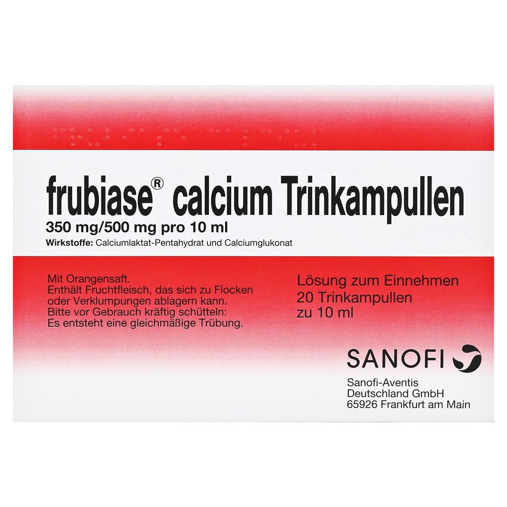 frubiase calcium 350mg 500mg 20 st ck n1 online bestellen. Black Bedroom Furniture Sets. Home Design Ideas