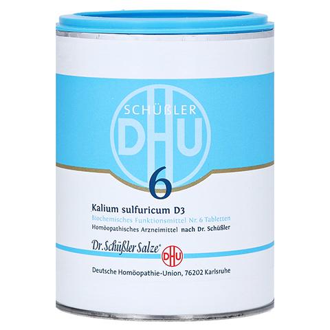 BIOCHEMIE DHU 6 Kalium sulfuricum D 3 Tabletten 1000 Stück