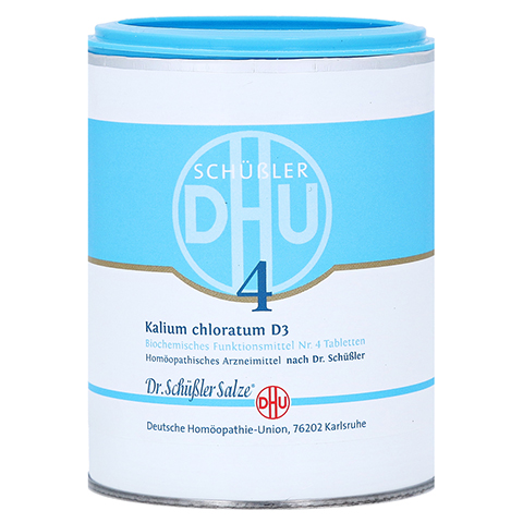 BIOCHEMIE DHU 4 Kalium chloratum D 3 Tabletten 1000 Stück
