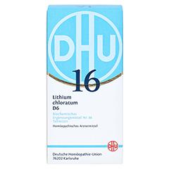 BIOCHEMIE DHU 16 Lithium chloratum D 6 Tabletten 420 Stück - Vorderseite