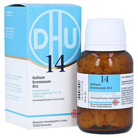 BIOCHEMIE DHU 14 Kalium bromatum D 12 Tabletten 420 Stück N3