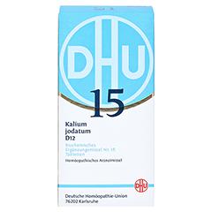 BIOCHEMIE DHU 15 Kalium jodatum D 12 Tabletten 420 Stück N3 - Vorderseite