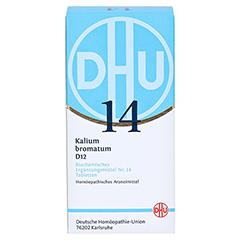 BIOCHEMIE DHU 14 Kalium bromatum D 12 Tabletten 420 Stück N3 - Vorderseite