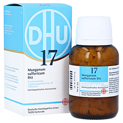 BIOCHEMIE DHU 17 Manganum sulfuricum D 12 Tabl. 420 Stück N3