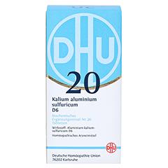 BIOCHEMIE DHU 20 Kalium alum.sulfur.D 6 Tabletten 420 Stück N3 - Vorderseite