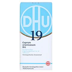 BIOCHEMIE DHU 19 Cuprum arsenicosum D 12 Tabletten 420 Stück N3 - Vorderseite