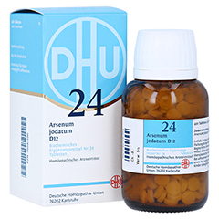 BIOCHEMIE DHU 24 Arsenum jodatum D 12 Tabletten 420 Stück N3