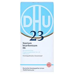 BIOCHEMIE DHU 23 Natrium bicarbonicum D 6 Tabl. 420 Stück - Vorderseite