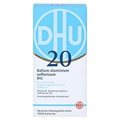 BIOCHEMIE DHU 20 Kalium alum.sulfur.D 12 Tabletten 420 Stück N3 - Vorderseite