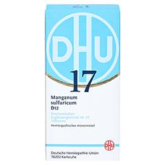 BIOCHEMIE DHU 17 Manganum sulfuricum D 12 Tabl. 420 Stück N3 - Vorderseite