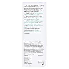 EUBOS EMPFINDL.Haut Omega 3-6-9 Hydro Activ Lotion 200 Milliliter - Rückseite