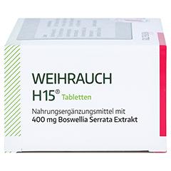 WEIHRAUCH H15 Tabletten 100 Stück - Rechte Seite
