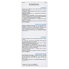 BIODERMA Hydrabio Gommage Peelingcreme 75 Milliliter - Rückseite