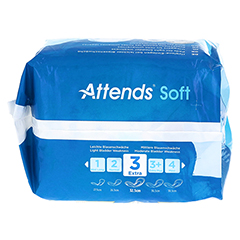 ATTENDS Soft 3 extra 10 Stück - Unterseite