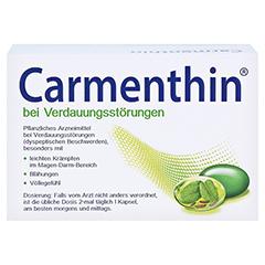 Carmenthin bei Verdauungsstörungen 84 Stück - Rückseite