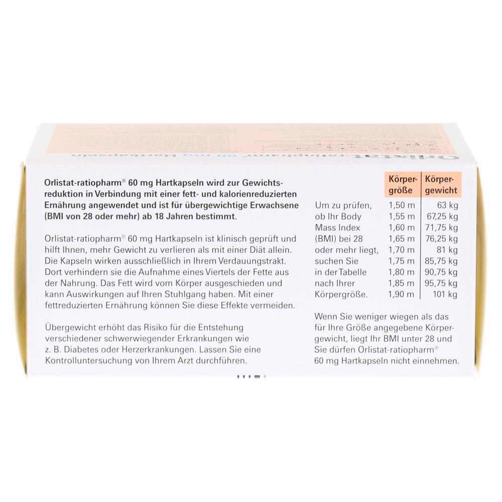 Erfahrungen Zu Orlistat Ratiopharm 60mg 84 Stück Medpex