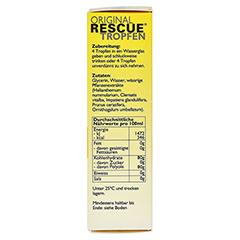 BACH ORIGINAL Rescue Tropfen alkoholfrei 20 Milliliter - Rechte Seite