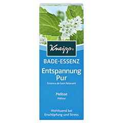 KNEIPP Bade-Essenz Entspannung Pur 100 Milliliter - Vorderseite