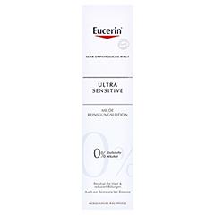 Eucerin UltraSensitive Reinigungslotion 100 Milliliter - Vorderseite