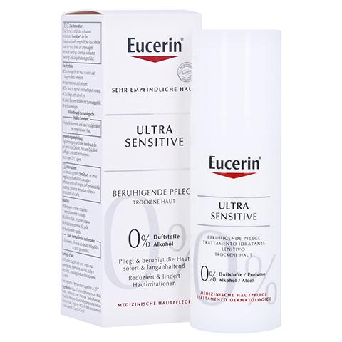 Eucerin UltraSensitive Beruhigende Pflege für trockene Haut 50 Milliliter