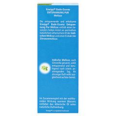 KNEIPP Bade-Essenz Entspannung Pur 100 Milliliter - Rückseite